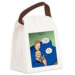 Timmys Bestest Buddy Canvas Lunch Bag
