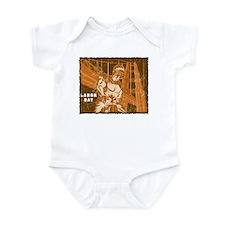 Vintage Labor Day Infant Bodysuit