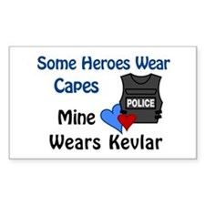 Kevlar Hero Rectangle Stickers