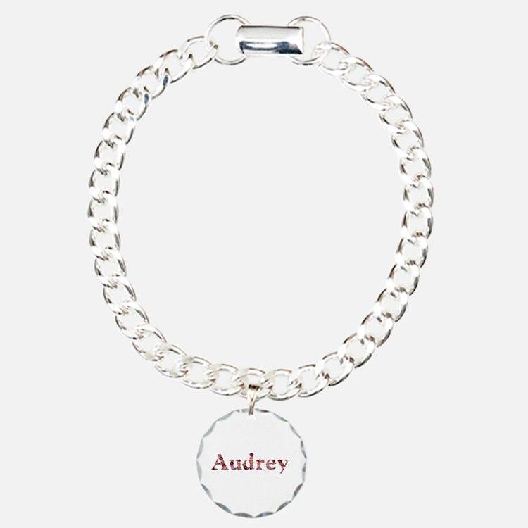 Audrey Pink Flowers Bracelet