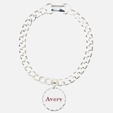 Avery Pink Flowers Bracelet