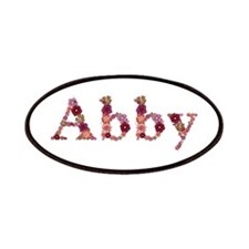 Abby Pink Flowers Patch