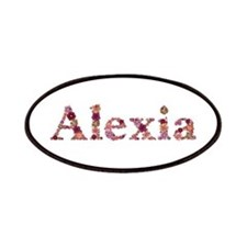 Alexia Pink Flowers Patch