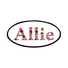 Allie Pink Flowers Patch