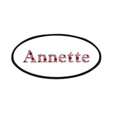 Annette Pink Flowers Patch