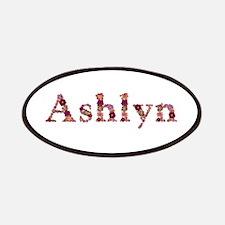 Ashlyn Pink Flowers Patch