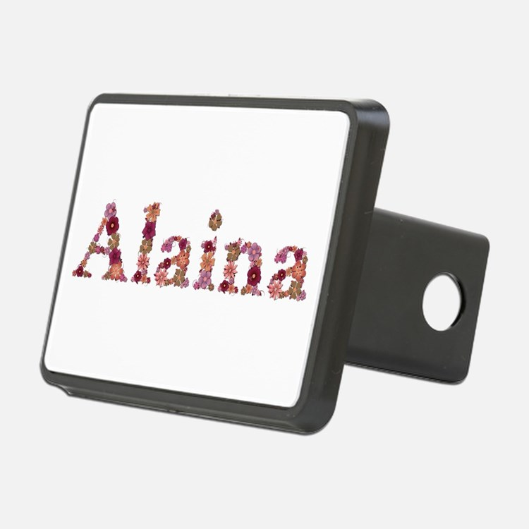 Alaina Pink Flowers Hitch Cover