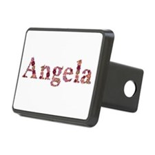 Angela Pink Flowers Hitch Cover