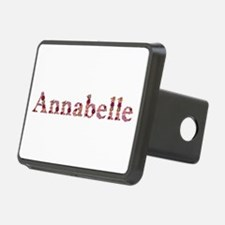Annabelle Pink Flowers Hitch Cover
