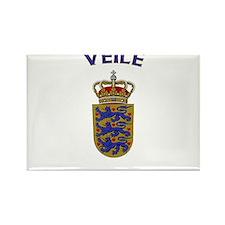 Veile, Denmark Rectangle Magnet