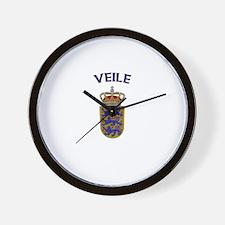 Veile, Denmark Wall Clock