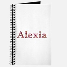 Alexia Pink Flowers Journal