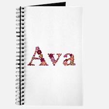 Ava Pink Flowers Journal