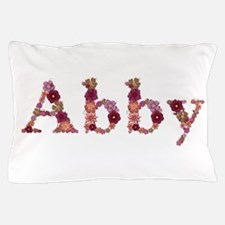 Abby Pink Flowers Pillow Case