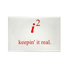 Keepin' it real Rectangle Magnet (100 pack)