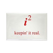 Keepin' it real Rectangle Magnet (10 pack)