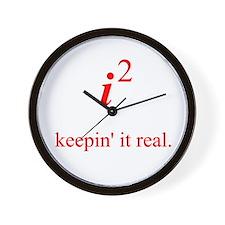 Keepin' it real Wall Clock