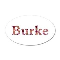 Burke Pink Flowers Wall Decal