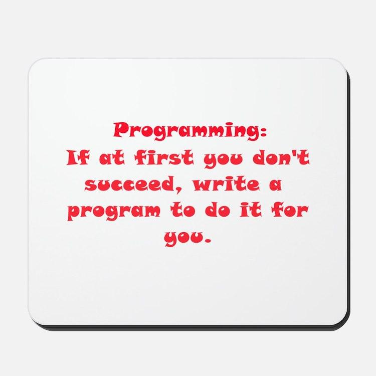 Programming Mousepad