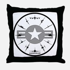 CLOCK 3 Throw Pillow