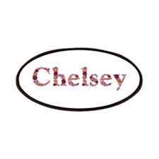 Chelsey Pink Flowers Patch