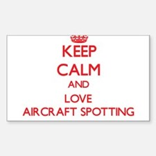 Keep calm and love Aircraft Spotting Decal