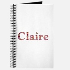 Claire Pink Flowers Journal