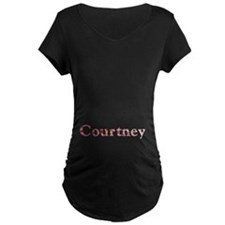Courtney Pink Flowers T-Shirt