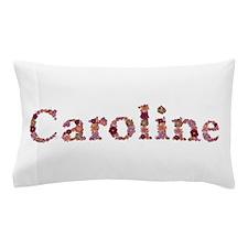 Caroline Pink Flowers Pillow Case
