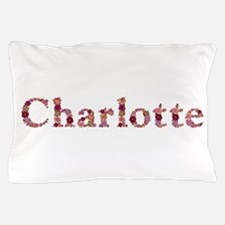 Charlotte Pink Flowers Pillow Case