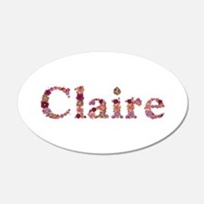 Claire Pink Flowers Wall Decal