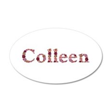 Colleen Pink Flowers Wall Decal