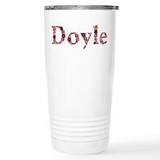 Doyle Pink Flowers Travel Mug