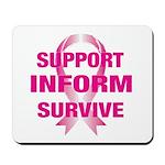 Support Inform Survive Mousepad
