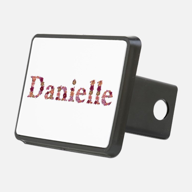 Danielle Pink Flowers Hitch Cover