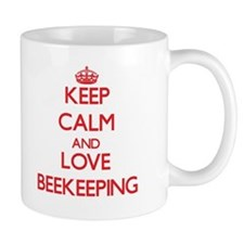 Keep calm and love Beekeeping Mugs