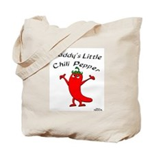 Daddy's Little Chili Pepper Tote Bag