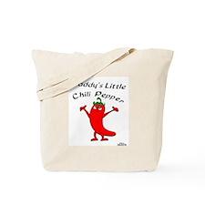 Daddy's Little Chili Pepper Tote Bag