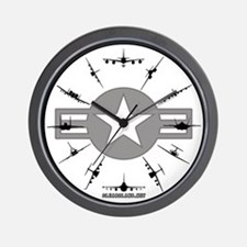 cute air force wall clock art force office decoration