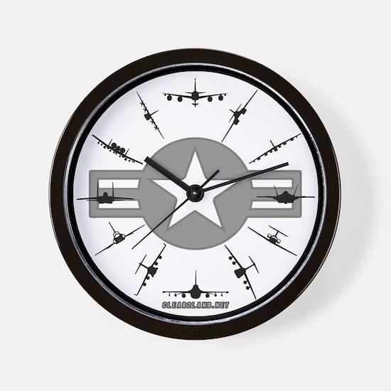 Unique Operator Wall Clock