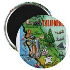 California Map 11x17 Magnets