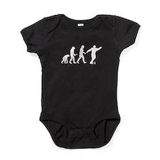 Soccer Evolution Baby Bodysuit