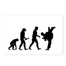 Karate Evolution Postcards (Package of 8)