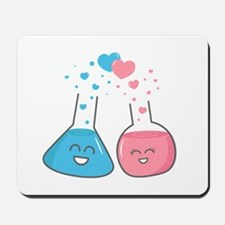 Cute flasks in love, weve got chemistry Mousepad