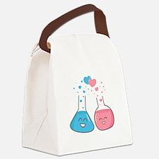 Cute flasks in love, weve got chemistry Canvas Lun