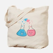 Cute flasks in love, weve got chemistry Tote Bag
