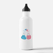 Cute flasks in love, weve got chemistry Water Bott