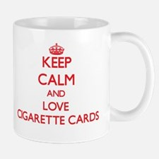 Keep calm and love Cigarette Cards Mugs