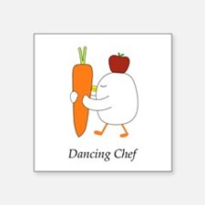 Dancing Chef Sticker