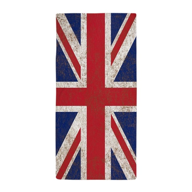 UK British Flag Union Jack Beach Towel By Listing Store 142414